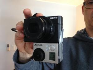 Steve's 2 camera duct tape trick