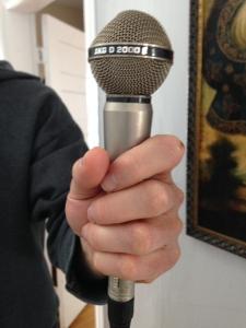 Steve's handheld dynamic mic